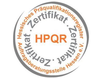 Zertifikat HPQR